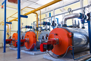 Industrial boilers. Heinz Mechanical Industries in Clackamas OR talks about the different types of commercial boiler systems.